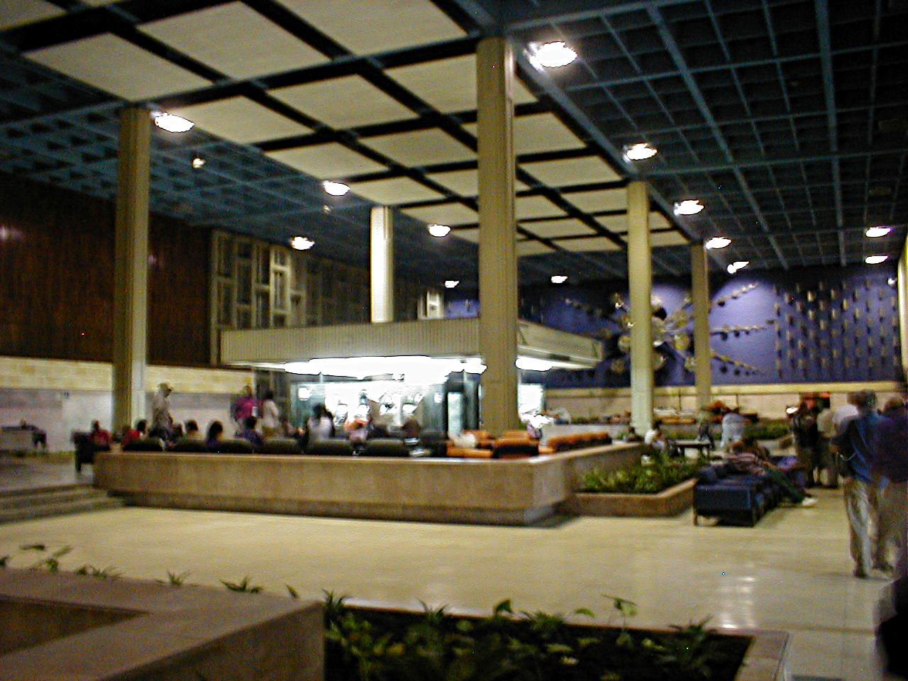 Hospital Lobby Cuba November 2002